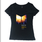 Martin Events & Tourism - Women's Shutter Boutique Scoop T Shirt by 'As Colour '